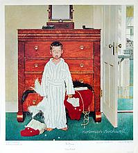 NORMAN ROCKWELL - Color collotype