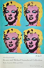 ANDY WARHOL - Color offset lithograph poster