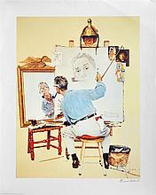 NORMAN ROCKWELL - Color offset lithograph