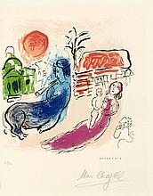 MARC CHAGALL - Color Lithograph