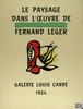 FERNAND LEGER - Original color lithograph, Fernand Leger, $400