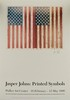 JASPER JOHNS - Original color offset lithograph, Jasper Johns, $2,000