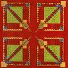 FRANK LLOYD WRIGHT/TALIESIN ARCHITECTS - Textile, Frank Lloyd Wright, $400