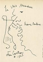 JEAN COCTEAU - Pen and ink drawing