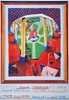 DAVID HOCKNEY - Color offset lithograph, David Hockney, $500