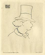 EDOUARD MANET - Etching