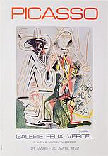 PABLO PICASSO - Color offset lithograph