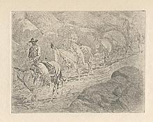 EDWARD BOREIN - Etching