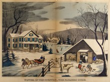 CHARLES HART - Hand-colored  lithograph