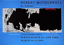 ROBERT MOTHERWELL [after] - Color photolithograph