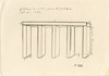 DONALD JUDD [after] - Pencil drawing on paper, Donald Clarence Judd, $800