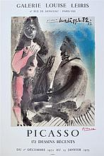 PABLO PICASSO - Original color lithograph