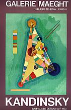 WASSILY KANDINSKY [after] - Original color lithograph