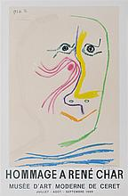 PABLO PICASSO - Color lithograph