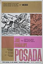 JOSE GUADALUPE POSADA [after] - Original color lithograph & silkscreen