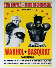 ANDY WARHOL & JEAN-MICHEL BASQUIAT - Color offset lithograph