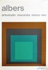 JOSEF ALBERS - Original color silkscreen