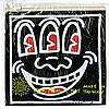 KEITH HARING - Color offset lithograph on vinyl