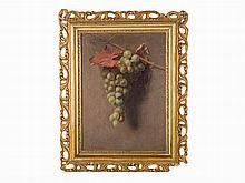 Samuel Marsden Brookes, Oil on canvas, 'Grapes'