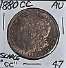1880-CC Morgan Dollar AU Scarce!!!