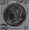 1883 Morgan Dollar GEM BU Super Sharp!!!