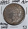 1883-S Morgan Dollar AU+ Sharp!!! Scarce!!