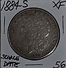 1884-S Morgan Dollar XF Scarce