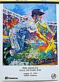 Phil Rizzuto  Hall of Fame Day Double Signed By LeRoy Neiman AR3468