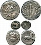 ANCIENT COINS. Greek. Thessaly, Larissa (c.356-342