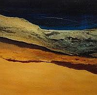 Jenny Woodhouse landscape 1998 - oil on paper-