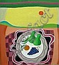 Maya Von Burger-Barker (1939-) Two Green Pears,, Maya Von Burger Barker, Click for value