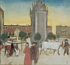 Maurice Denis - Centre ville, 1898