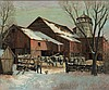 Winfield Scott  Clime - The Farm in Winter