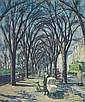 Henry Ernest Schnakenberg - The Avenue (Fifth Avenue, New York)