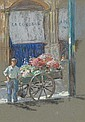 Abbott Graves - The Flower Vendor