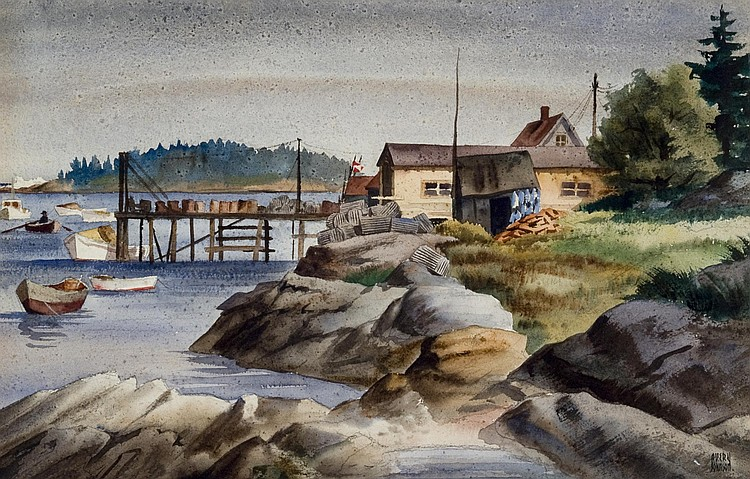 Avery Fisher Johnson Watercolor
