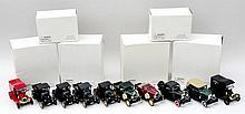 A quantity of model cars including a Ford Model