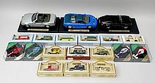 A quantity of boxed model cars including Heritage