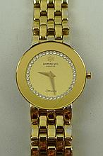 A Raymond Weil gold plated lady's Geneve Othello