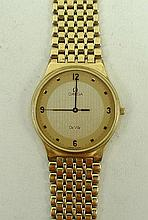 An Omega de Ville gold plated gentleman's
