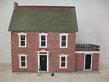 A doll's house furnished with Edwardian style