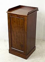 A 19th century mahogany pot cupboard, 39 by 38.5