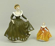 A Royal Doulton figure modelled as 'Fragrance'