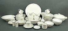 A Royal Doulton porcelain part dinner service