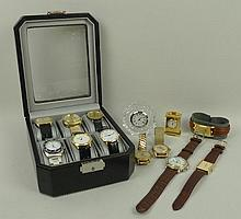 A MuDu gentleman's gold plated doublematic