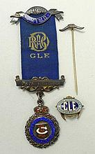 A Royal Antedeluvian Order of Buffalo's silver and enamel me