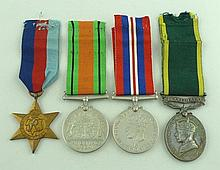 A George VI Territorial Efficiency Medal to WO Cl 2 Stephen