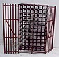 A Farrow & Jackson Ltd, London, wine cage for 66