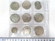 ten silver coins, Poland, 1930's