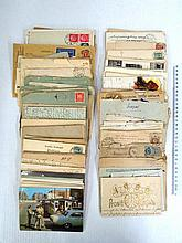 Envelopes sent by mail, early 20th century till